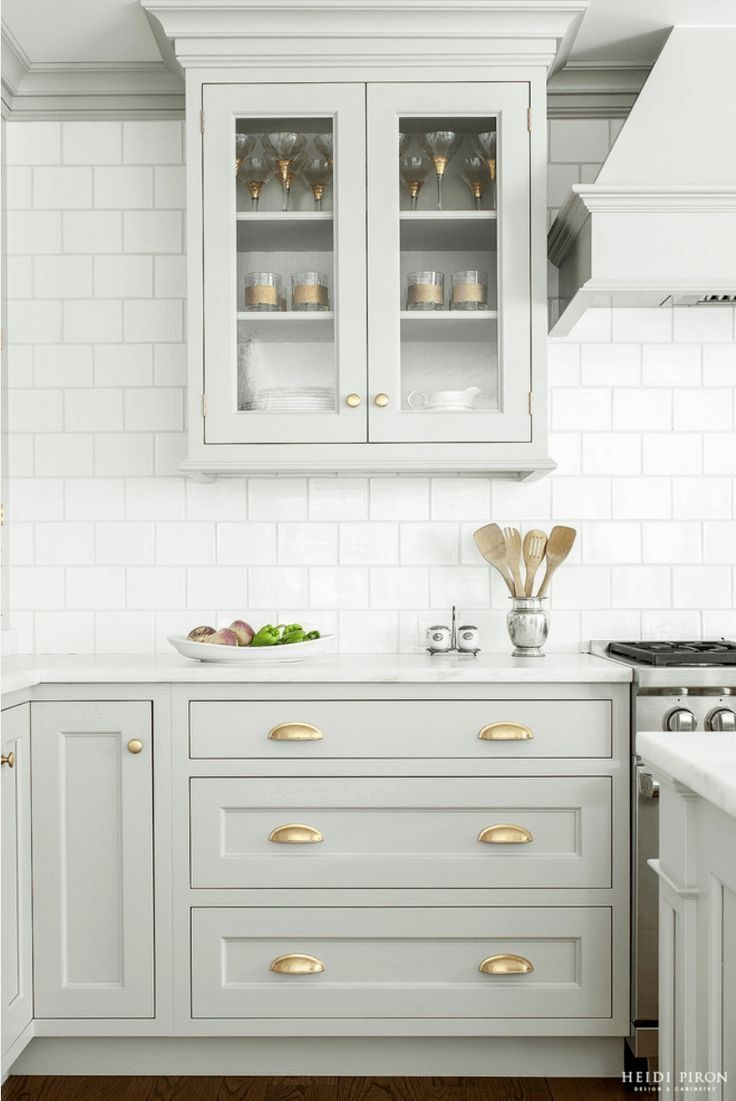 Don T Get Stuck In The Rut Of A Boring Kitchen Palette We Ve Rounded Up Our Favorite Kitchen Col Kitchen Cabinet Design Kitchen Interior Grey Kitchen Cabinets
