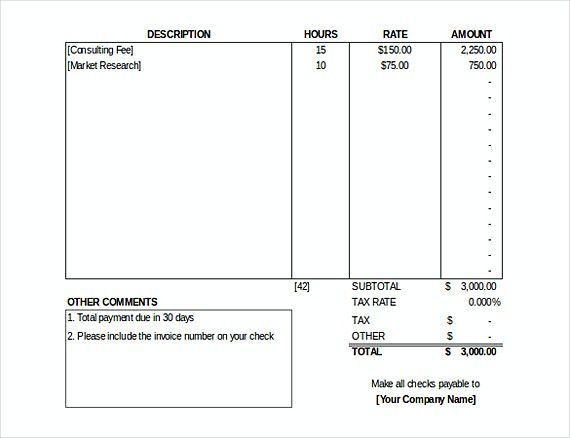 577 best invoice template images on Pinterest Invoice template - invoice template for openoffice