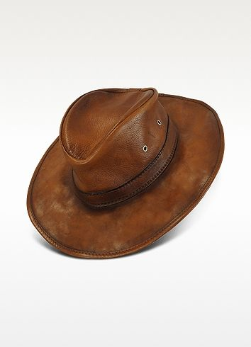 Pratesi Genuine Leather Hat don't like price but who doesn't want to look like Indian jones haha ~M~