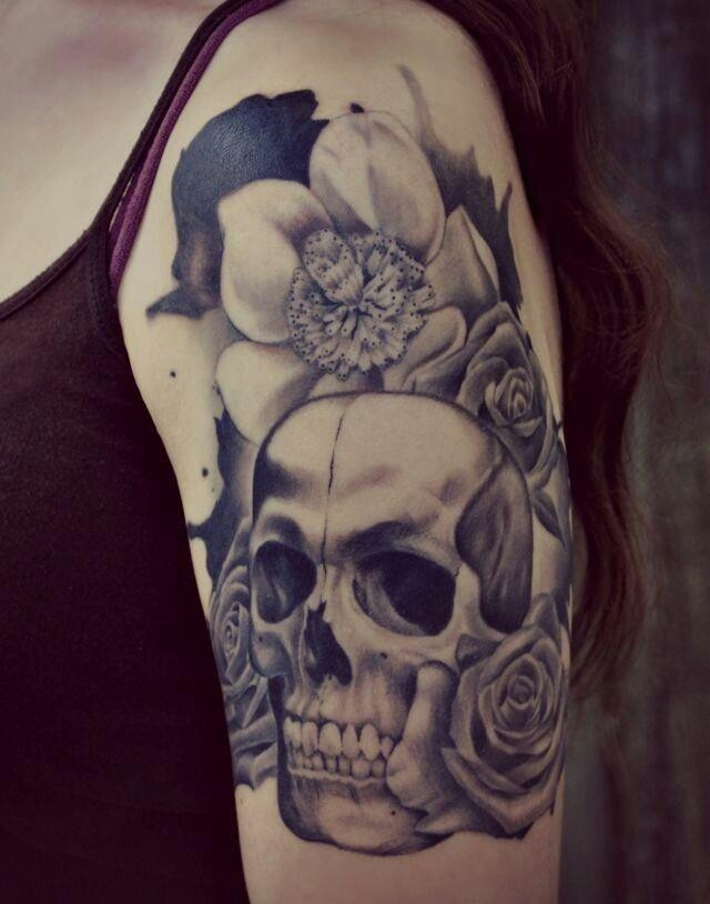 Skull love nightmare 2 pinterest inspiration for Skull love tattoos