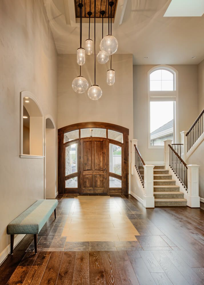 304 best foyers images on pinterest grand entrance for House plans with foyer entrance