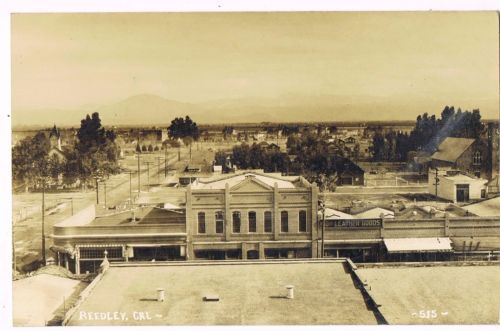 UNUSED-REAL-PHOTO-Postcard-LEATHER-GOODS-STORE-REEDLEY-CALIFORNIA