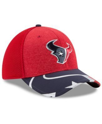 New Era Houston Texans 2017 Draft 39THIRTY Cap - Red/Navy L/XL
