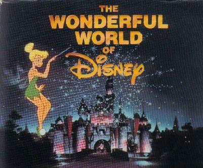 The Wonderful World of Disney.  Every Sunday night.