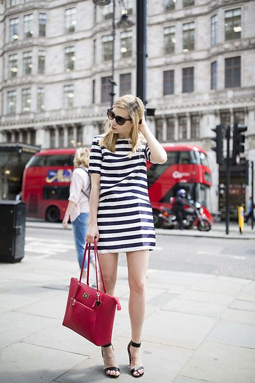 Get this look: http://lb.nu/look/8247505  More looks by Karolina Gespucci: http://lb.nu/gespucci  Items in this look:  Sheinside Dress, Marc B Bag, Cos Heels   #classic #elegant #romantic #streetstyle #chic #blogger #london