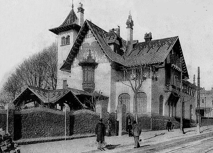 Casa Llorac al carrer Muntaner 263. Puig i Cadafalch