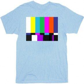 The Big Bang Theory Test Pattern T-Shirt