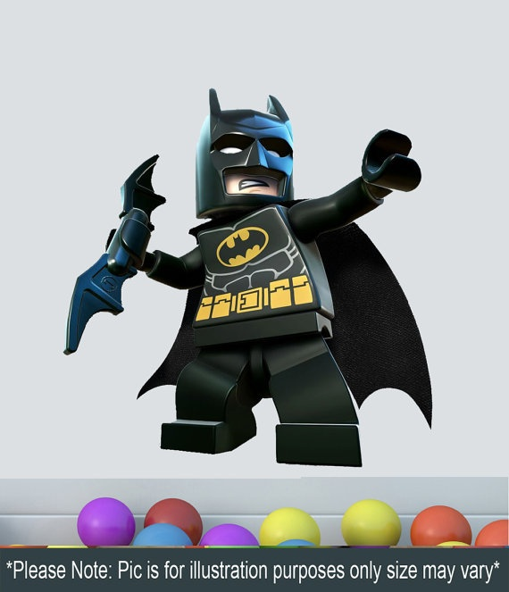 17 best images about lego superhero mural on pinterest for Batman wall mural uk