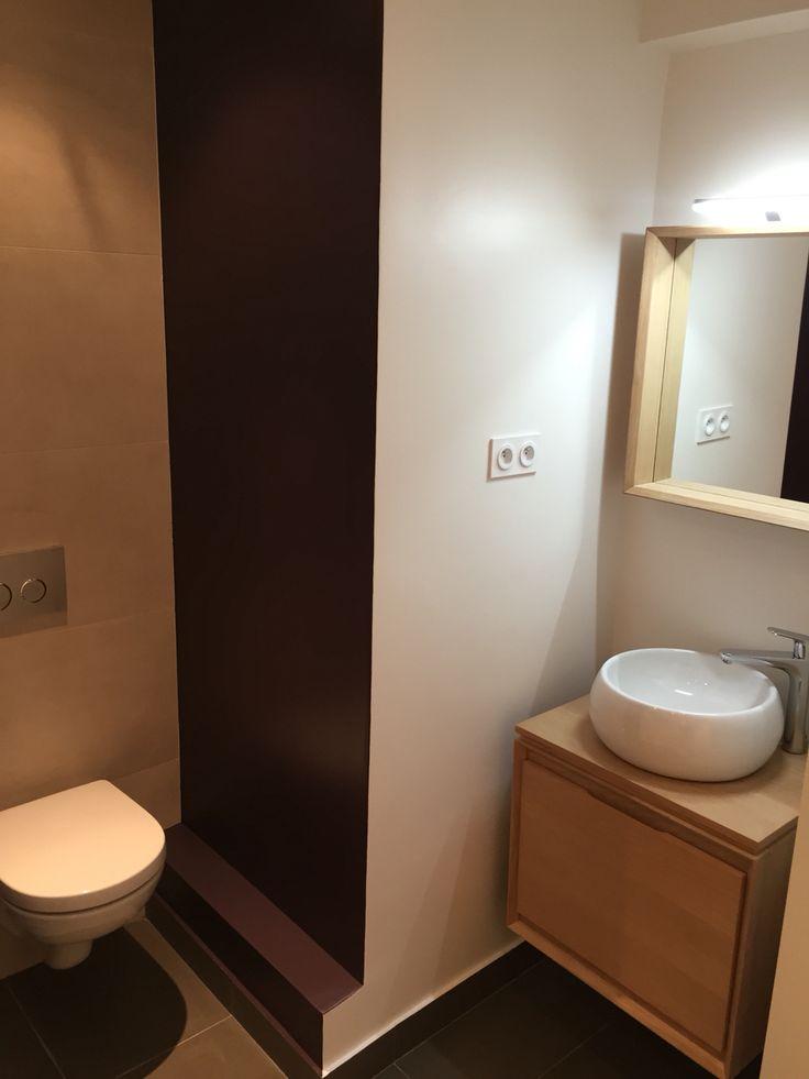 10 best anne lo salle d 39 eau images on pinterest bathroom home ideas and arquitetura. Black Bedroom Furniture Sets. Home Design Ideas