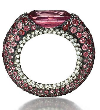 Ring | JAR. Colored sapphires and diamonds by JAR, 1989, sold for $ 106,830 by Christie's Geneva on the 15th of May 2012.