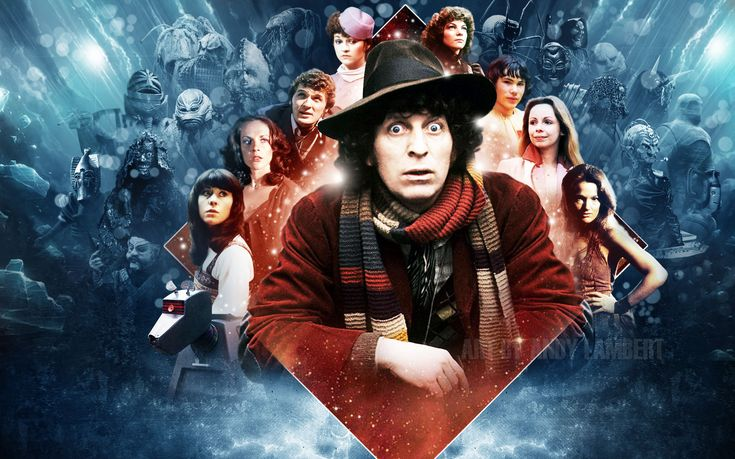 Fourth Doctor Tom Baker Doctor Who