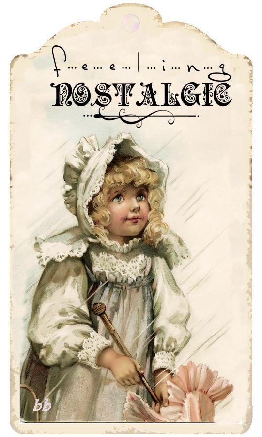 Artist: Brocante Brie Feeling Nostalgic .. Vintage label
