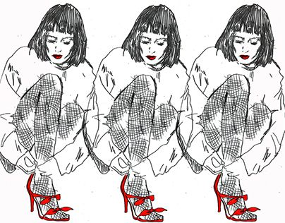 """Check out new work on my @Behance portfolio: """"Fashion Illustration"""" http://be.net/gallery/49769639/Fashion-Illustration #Fashion #Illustration #Fashion Illustration"""