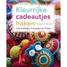 Kleurrijke cadeautjes haken | Haakboeken | kreazin