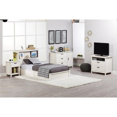 Ameriwood Home Adult Bed White
