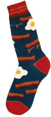 Men's Bacon Socks - Foot Traffic