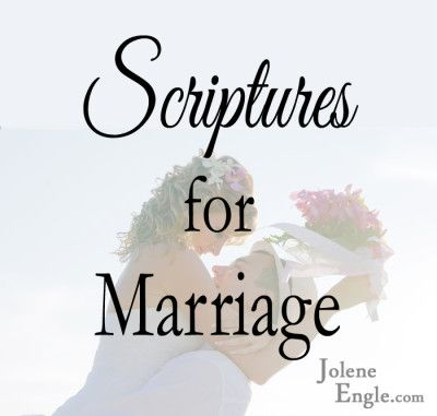 There are so many Scripture verses that one can choose for marriage, but these are my picks to keep my marriage not only Christ-centered, but also thriving. 1. Why I married my man instead of getting a dog… I found the one my heart loves. Song of Solomon 3:4 The Lord blessed me with my … … Continue reading →