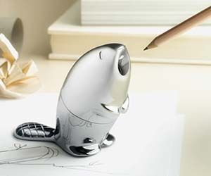 The beaver pencil sharpener will guarantee you're always equipped with the pointiest writing utensils in the the entire room. With their love for chomping on...
