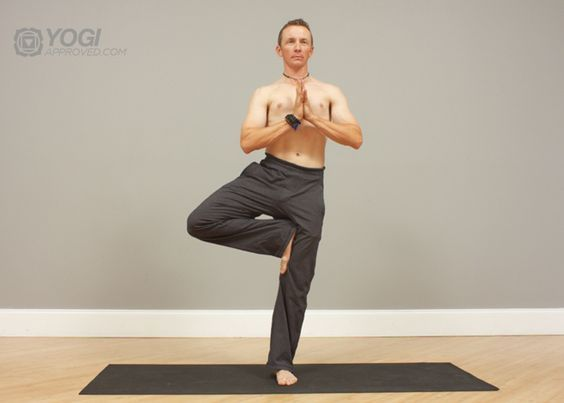5 simple yoga poses for men...useful at work