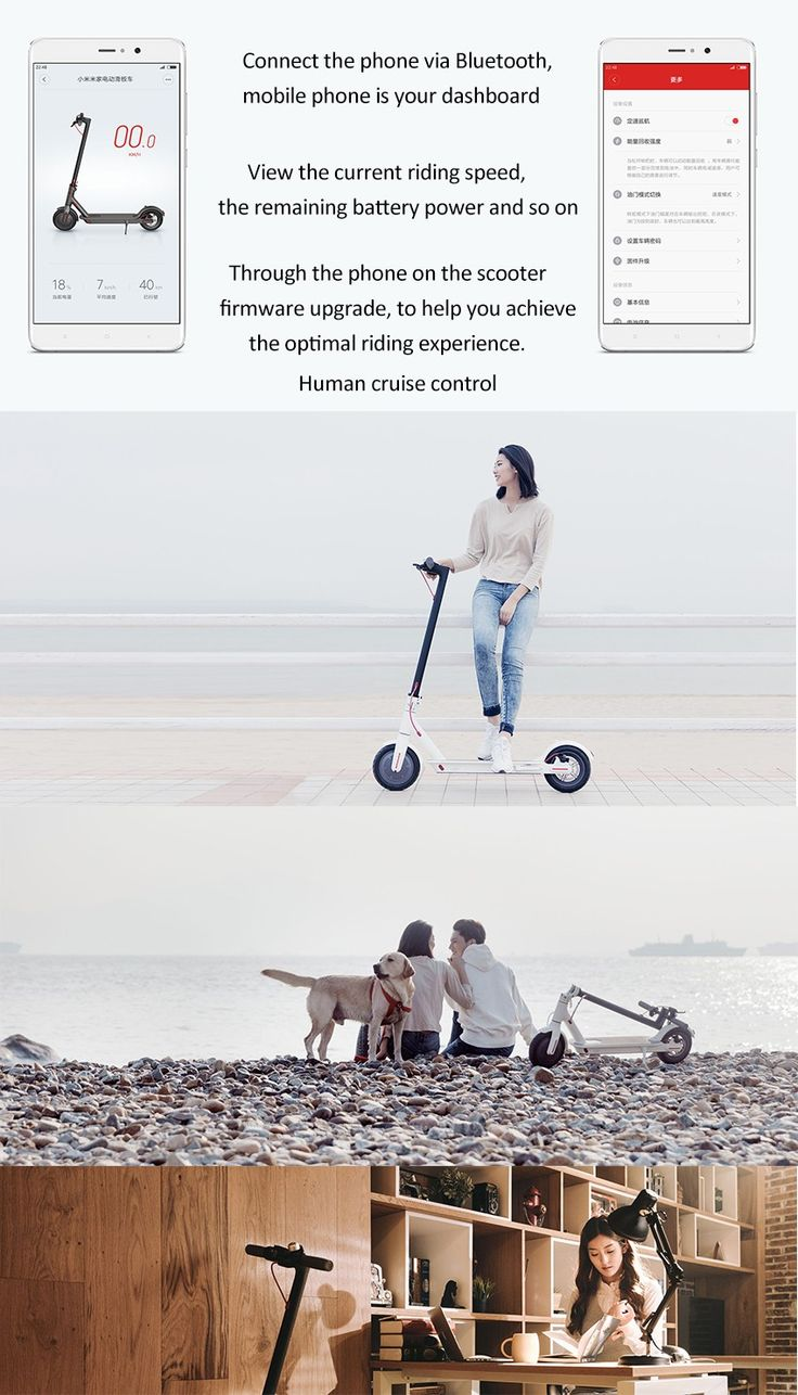 Xiaomi M365 IP54 12.5kg Ultra-light 30km Long Life Folding Electric Scooter Intelligent BMS Double Brake System 25 km/h Max. Load 100kg Two Wheels Electric Scooter