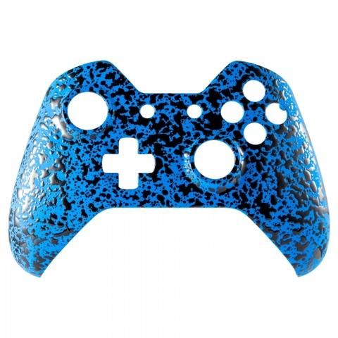 Front #Shell 3D Splash Collection - Electric Blue (For Original Xbox One Controllers ONLY) #xboxone