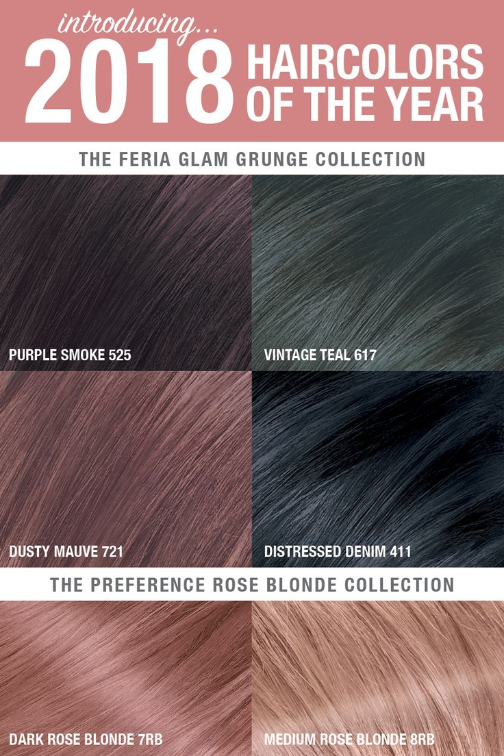 The look at home using l oreal paris feria smokey pastels in p2 smokey - Introducing The 2018 Hair Colors Of The Year Brought To You By L Or Al Paris Get The Ultimate Glam Grunge Look With Purple Smoke Vintage Teal