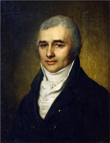 Portrait ofCountRazumovsky - Vladimir Borovikovsky 1800