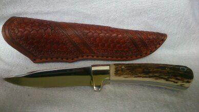 Messer aus Böhler N690 angefertigt