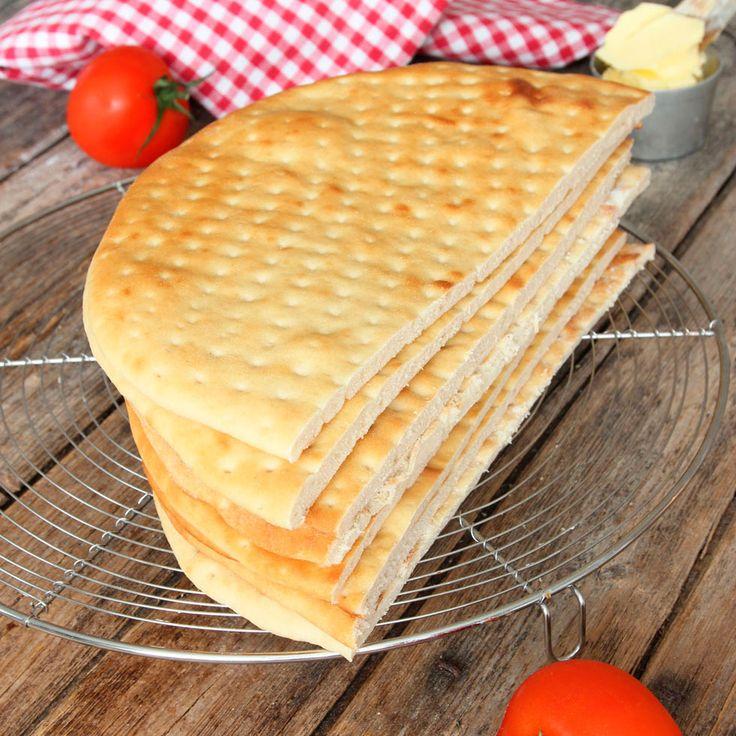 Mjuka tunna brödplattor som är en uppskattad och god klassiker.