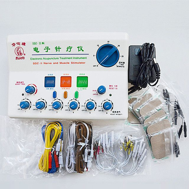 Hwato electronic acupuncutre treatment instrument SDZ-II nerve and muscle stimulator acupuncture physiotherapy