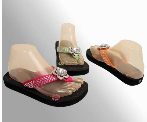 Montana-West-New-Style-Western-Jeweled-Bling-Flip-Flop-Sandals-Sports-Rhinestone