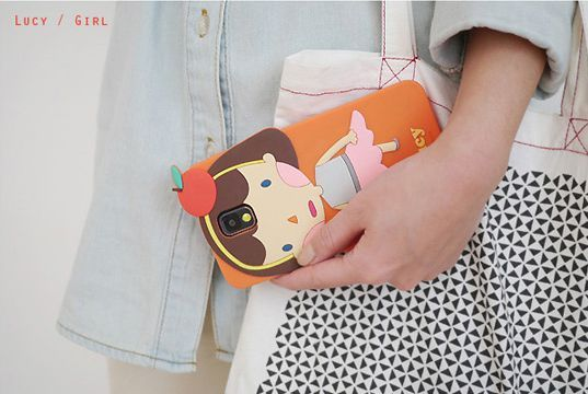 Galaxy Note 3 Romane Hello Geeks Adorable Character Case - Young Girl