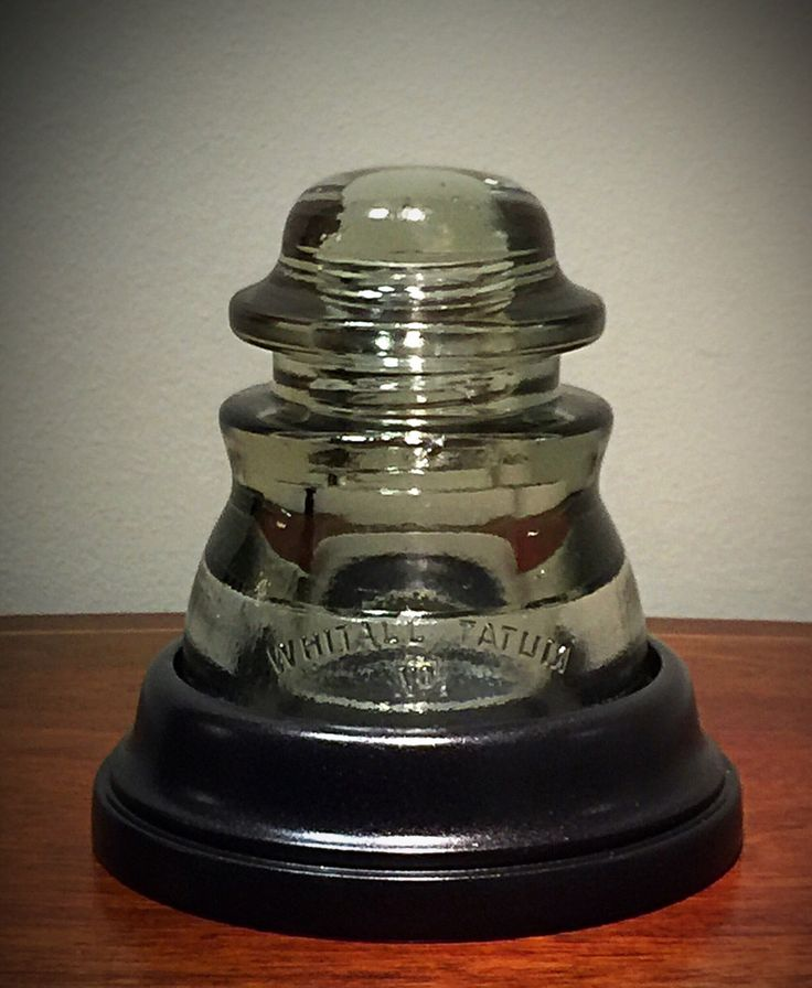 20 best glass insulator lamps images on pinterest glass for Telephone insulator light fixture