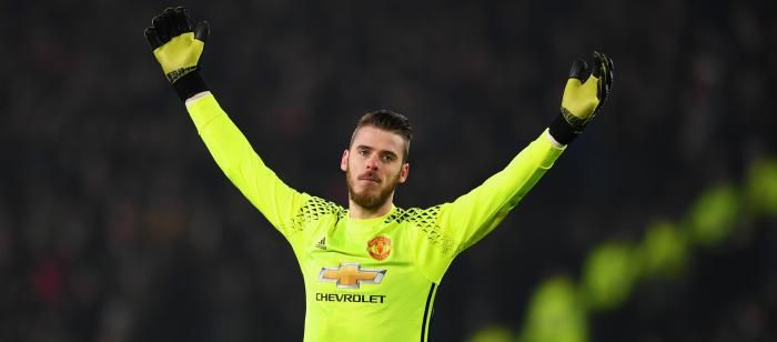 #rumors  David De Gea insists he is 'very happy' at Manchester United as Real Madrid transfer rumours resurface for star goalkeeper