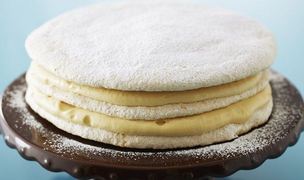 Hazelnut Dacquoise Torte : Bake with Anna Olson : The Home Channel - CAN NOT WAIT TO MAKE THIS!!