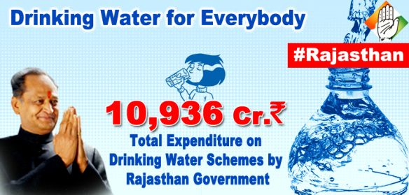 State of Rajasthan is the largest state in the country covering an area of 3,42,239 sq.km which is more than 10% of the total geographical area of the country. The status of water in the state is very critical.Some projects benefiting Rajasthan : Narmada Project, Mahi Project, Bisalpur Project, Isarda Drinking cum Irrigation Project, Ratanpura Distributary, Rajasthan Water Sector Restructuring Project (RWSRP), etc. .