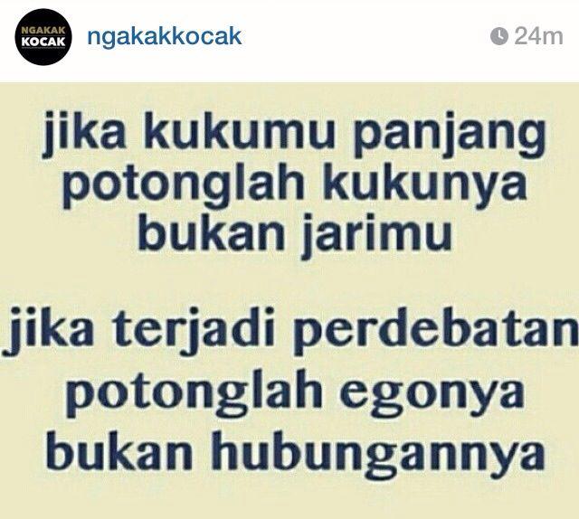 Quote by (instagram: ngakakkocak) #ngakakkocak #taniaangel #taniaangel95