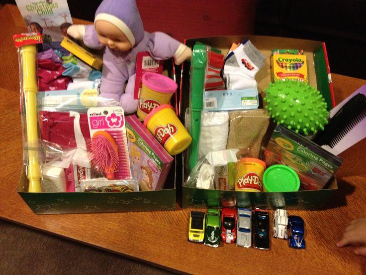 Samaritans purse: operation Christmas child