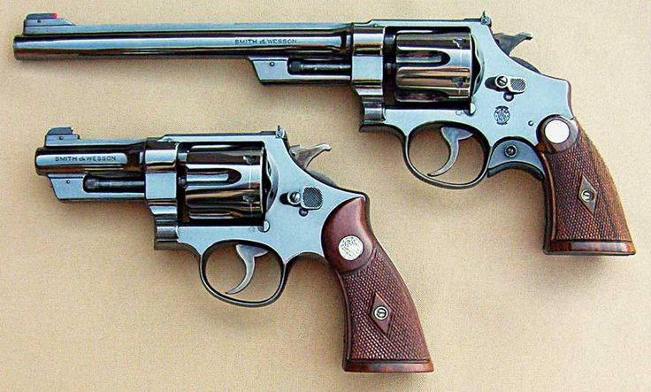 Smith and Wesson revolvers