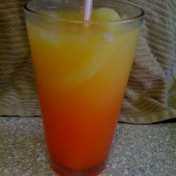 Bahama Mama Recipe Beverages with rum, rum, grenadine syrup, orange juice, pineapple juice, crushed ice