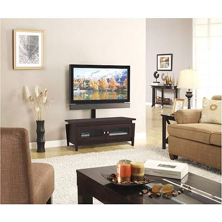 """Whalen TV Stand with Swinging Mount, for TVs up to 50"""""""