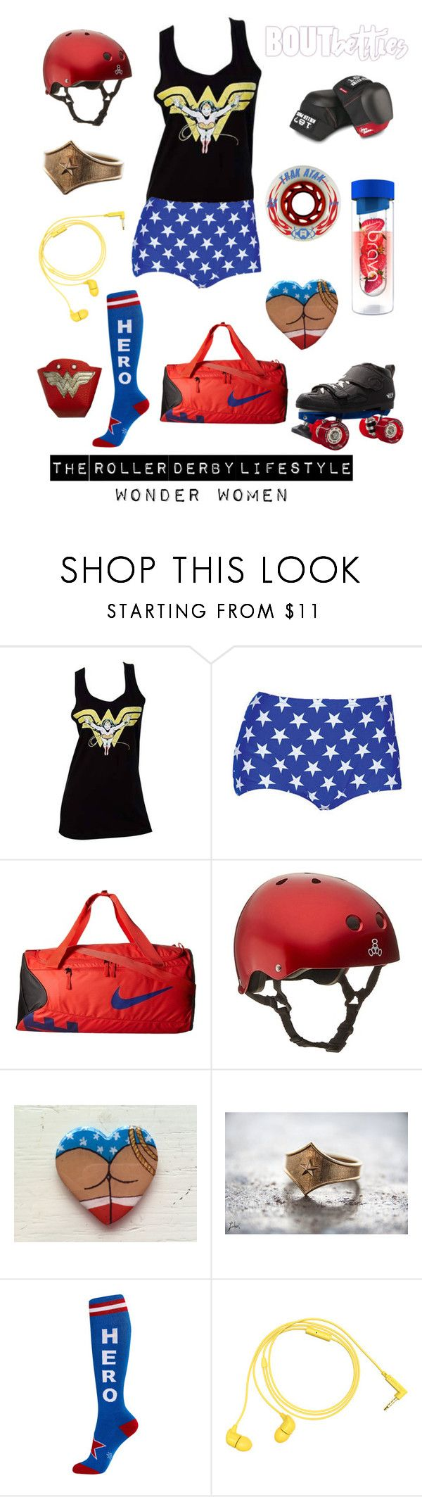 """Roller derby outfit idea 
