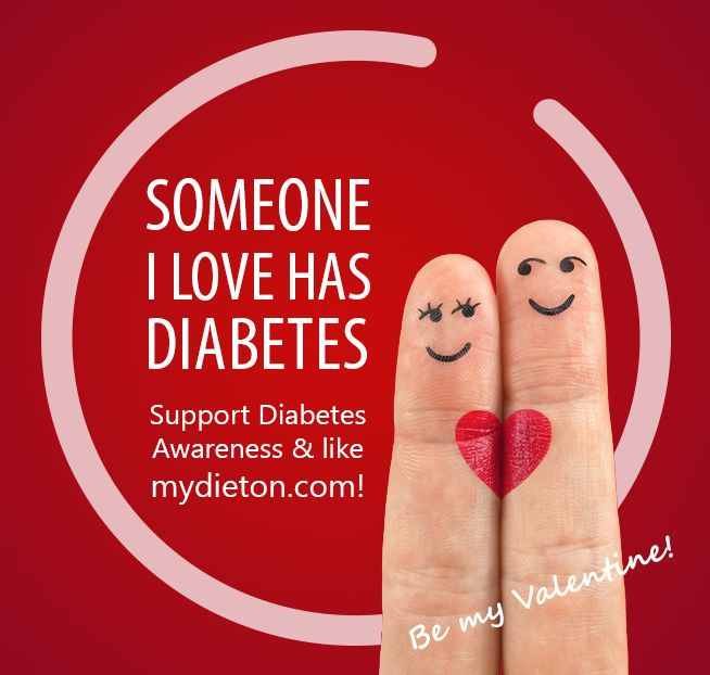 Someone I love has diabetes...