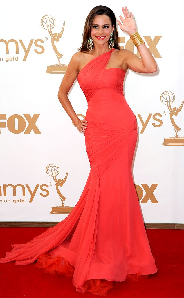 Sofia Vergara in Vera Wang at the Emmy Awards