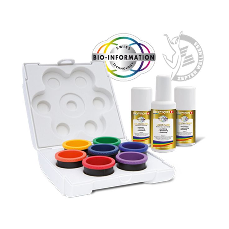 Cool Bioptron Color Light Therapy Set