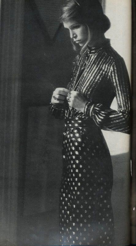 Photograph by Arthur Elgort for British Vogue November, 1972.