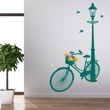 Vinilo decorativo - Bicicleta ed.verano