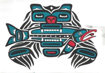 Native American Bear Totem Art | native carving ...