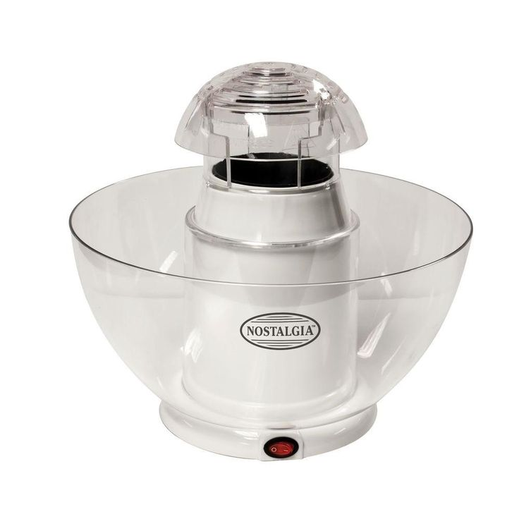 Pop-Cano Hot Air Popcorn Maker, White