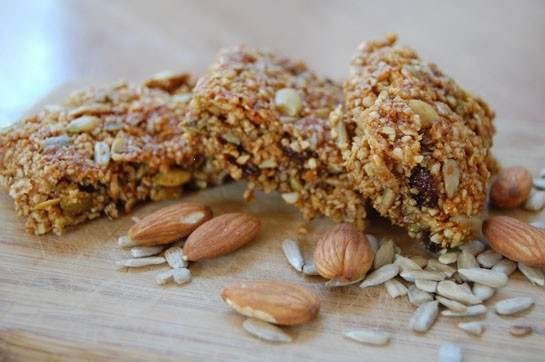 Honey Nut Bars | fun food | Pinterest